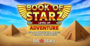 bitstarz book of starz logo