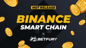 binance smart chain betfury logo